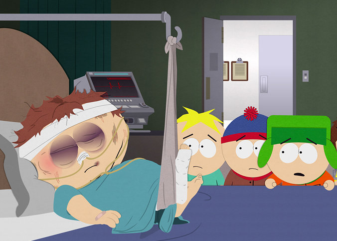South Park Pokes Fun At Tom Brady And The DeflateGate Scandal.