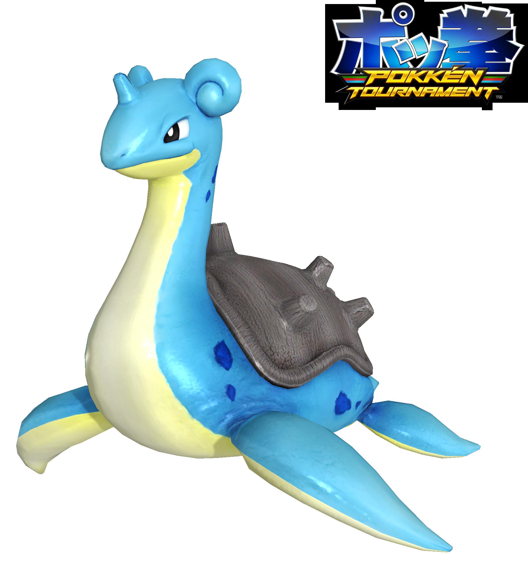 Pokken Tournament: Lapras Download by Tuni.