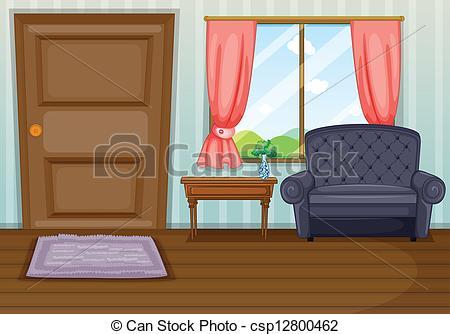 Pokoj clipart clipground for A living room clipart