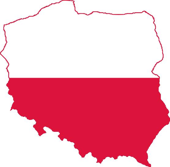 Polish Flag Clipart.