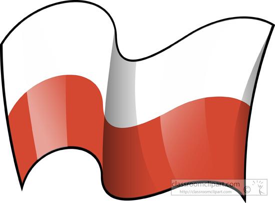 Poland Flag Clipart.