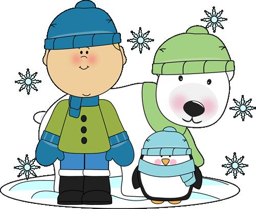 Penguin And Polar Bear Clipart.