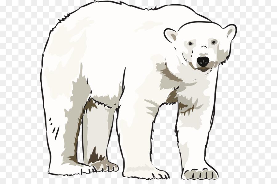20949 Bear free clipart.