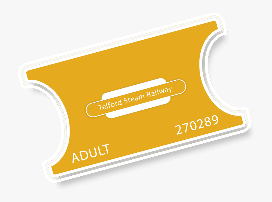 Transparent Polar Express Ticket Clipart.
