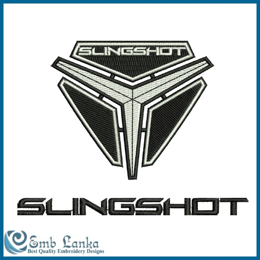 Polaris Slingshot Logo Embroidery Design.