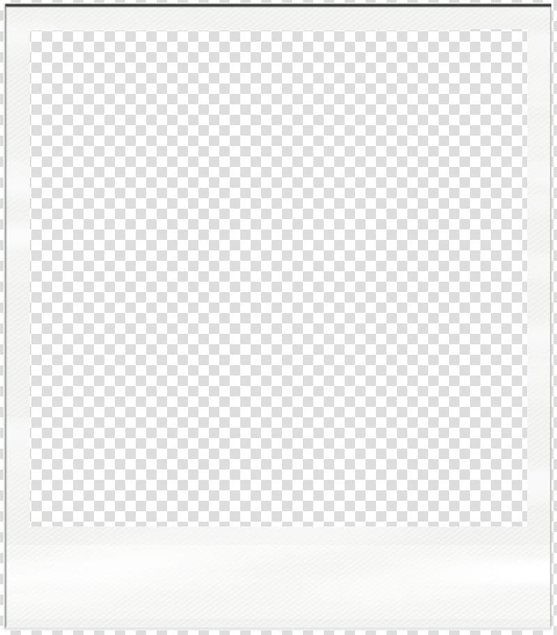 Polaroid Frame, blue and white border art transparent.