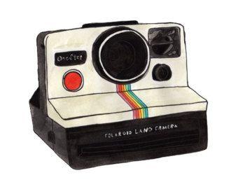 Polaroid Camera Clipart.