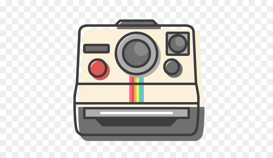 Polaroid Camera Drawing png download.