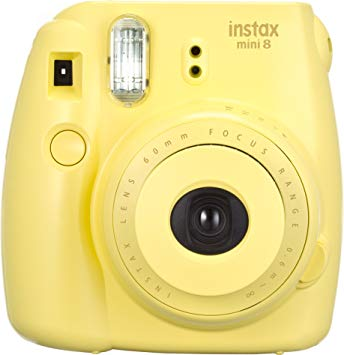 Fujifilm Instax Mini 8 Instant Camera (Yellow) (Discontinued by  Manufacturer).