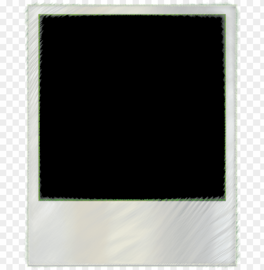 transparent polaroid frame clipart.
