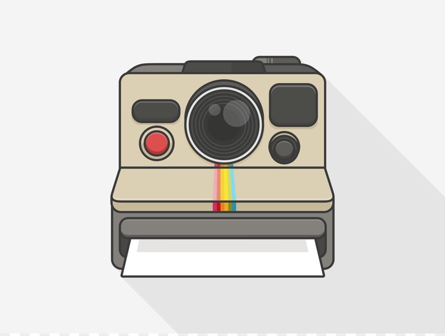 Polaroid Camera Drawing.