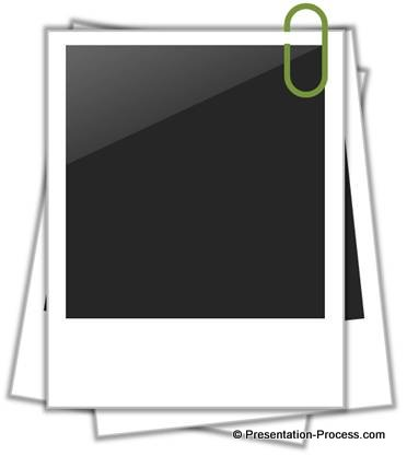 Easy Polaroid Picture Frame In PowerPoint.