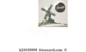Polder Clipart Royalty Free. 3 polder clip art vector EPS.