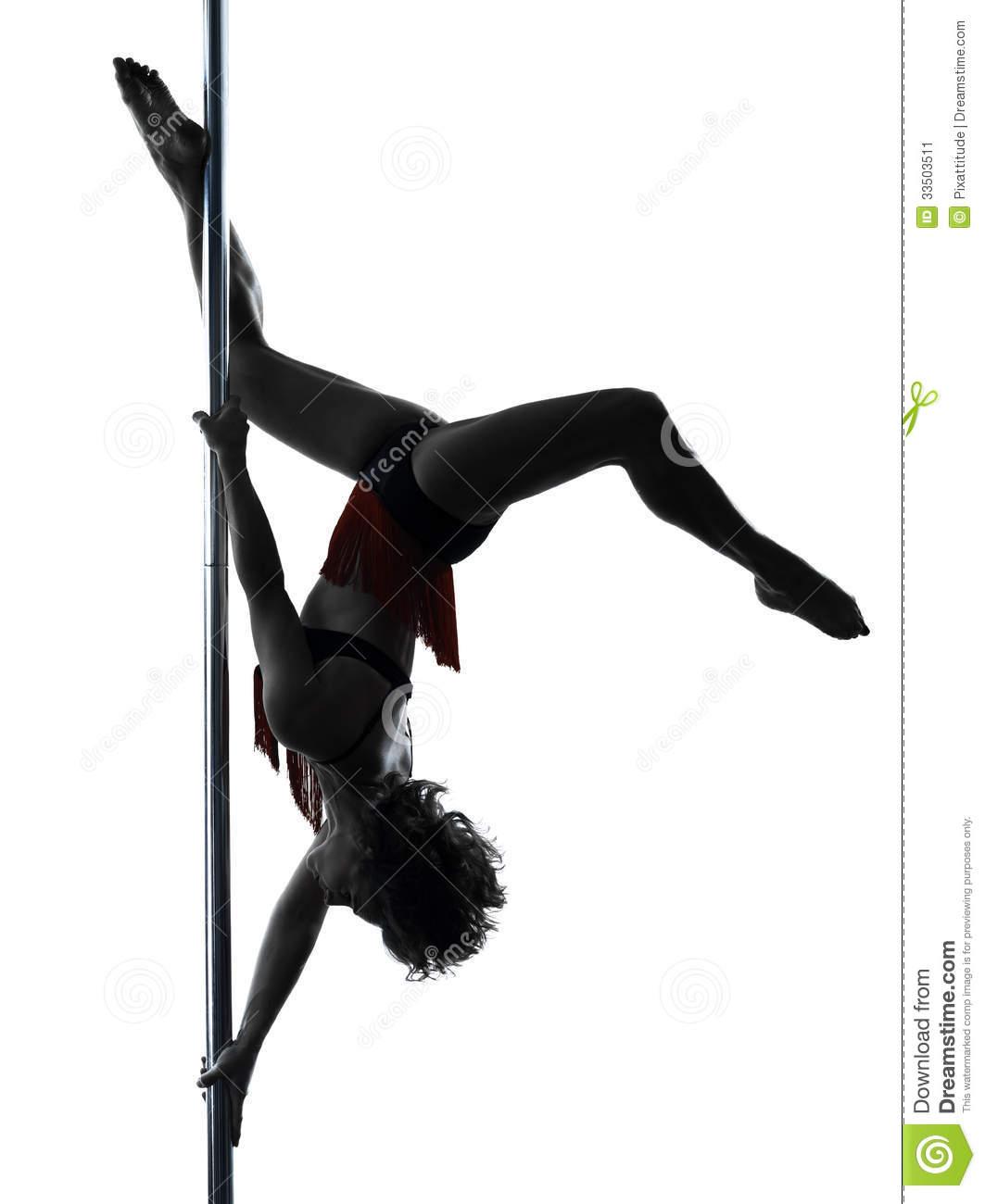 Pole Dancing Clipart.