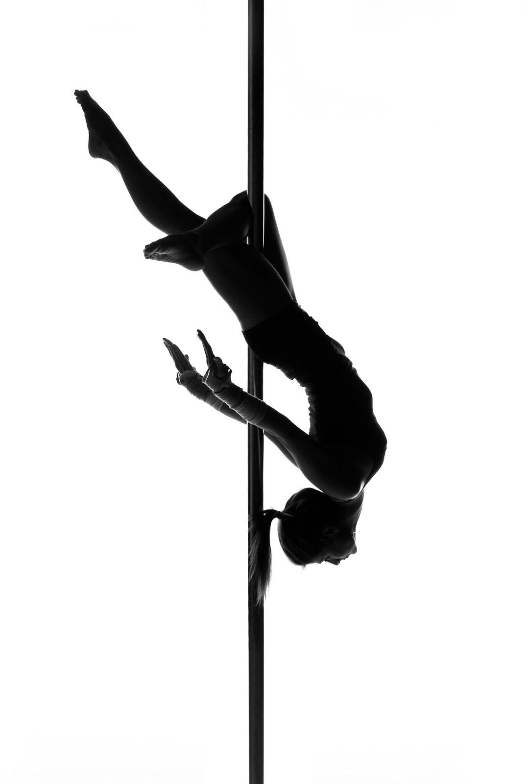 Pole Dancer Silhouette.