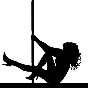 Imagini pentru pole dancer silhouette clip art.