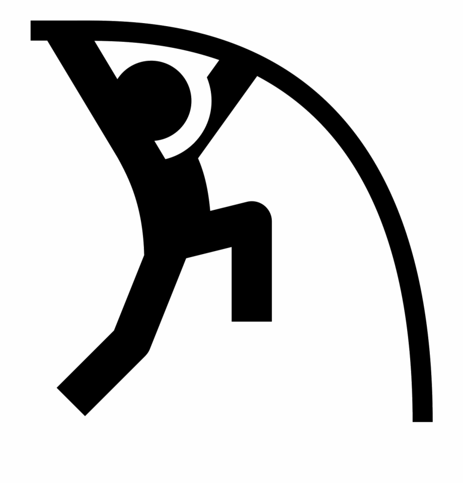 Svg Stock Pole Vault Computer Icons Jumping Symbol.