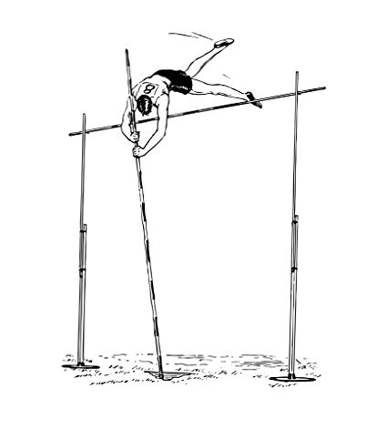 Amazon.com: Home Comforts Laminated Poster Pole Vaulter.