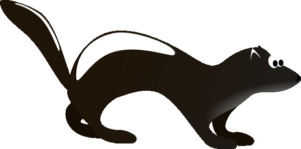 Polecat Clip Art at Clker.com.