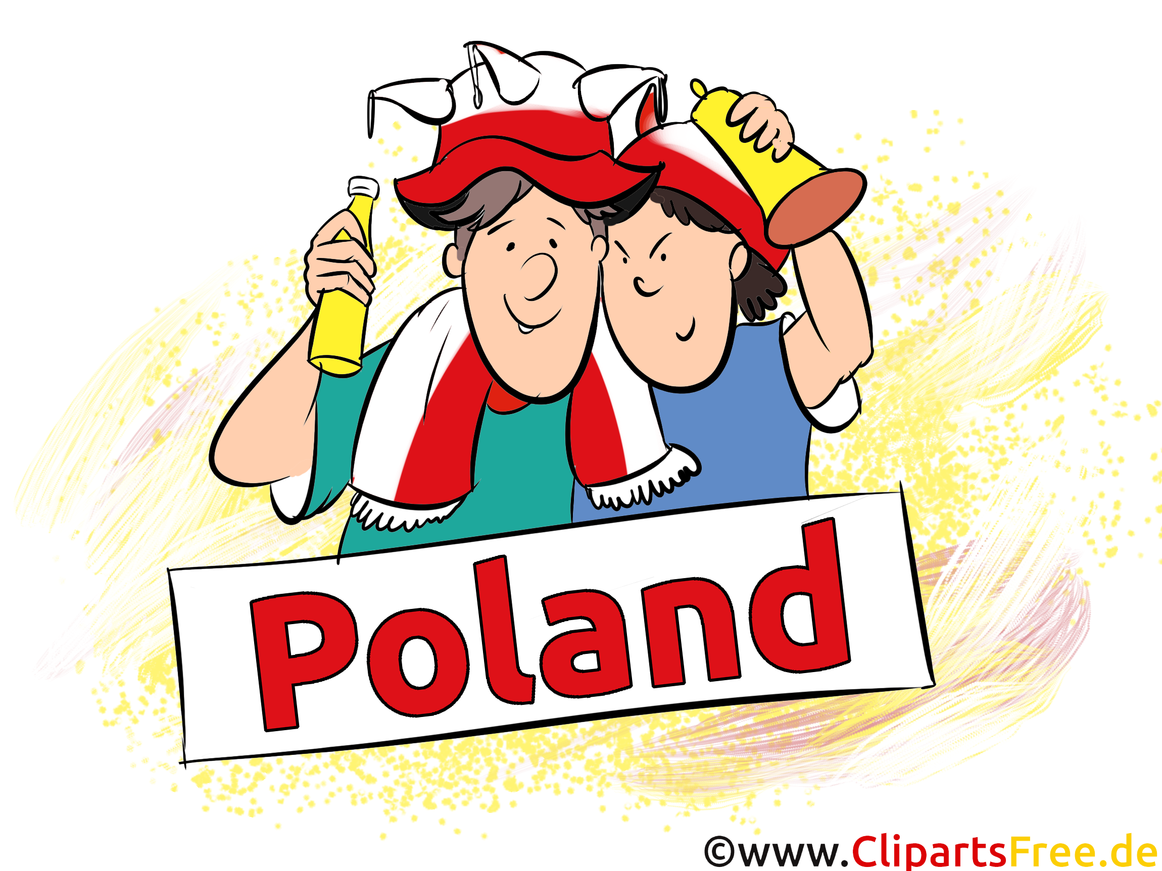 Polen Fussball Bilder, Cliparts, Cartoons, Grafiken.
