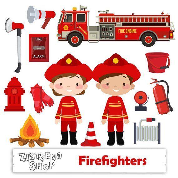 Little Firefighter clip art Fireman Clipart Firefighter.