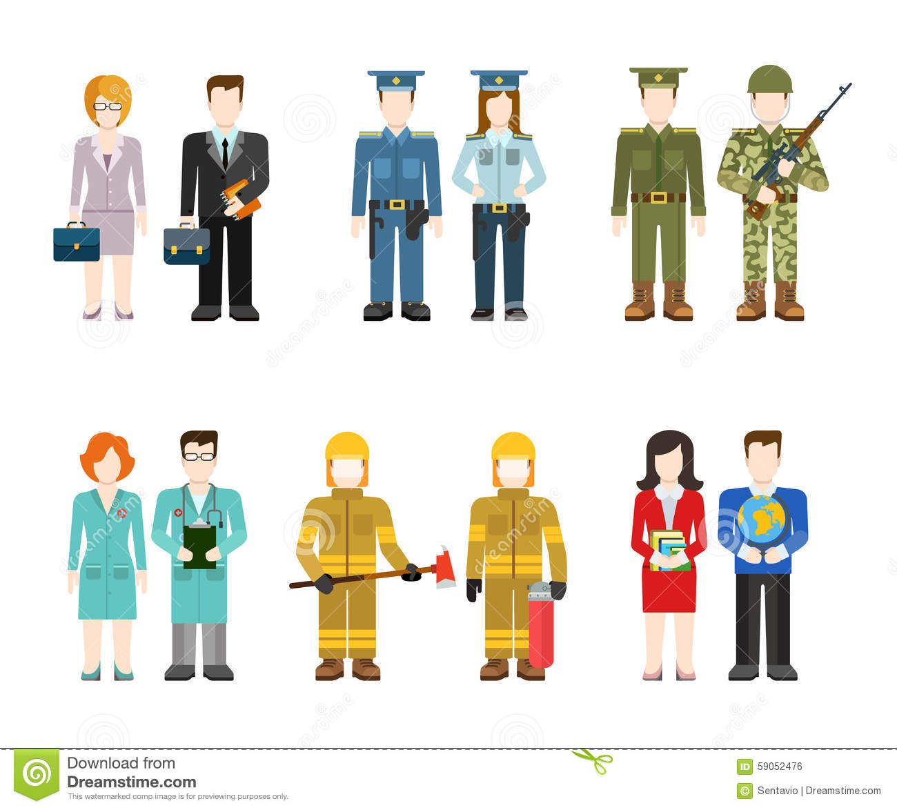 Showing post & media for Cartoon police and firemen.