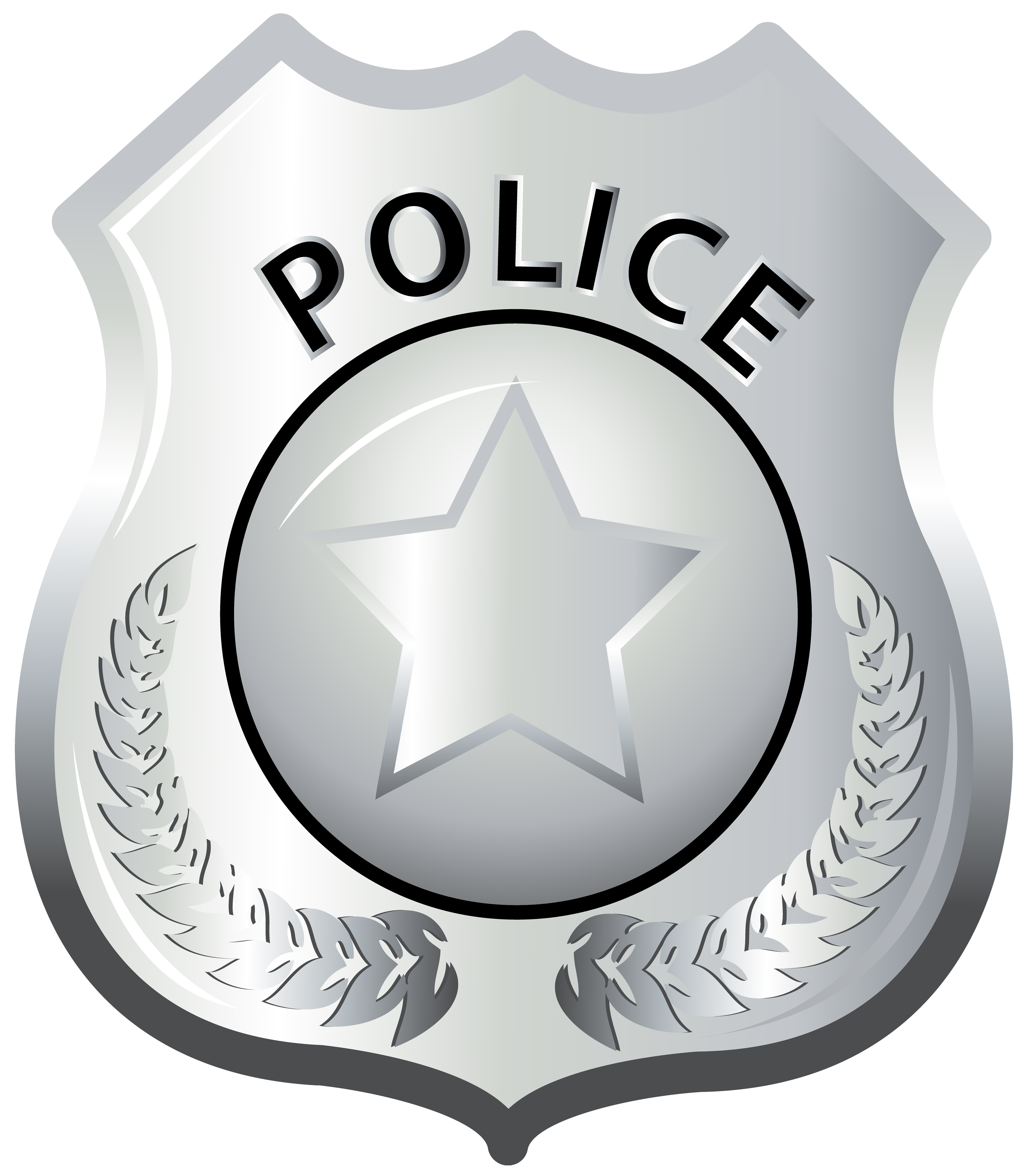 Police Badge PNG Clip Art.