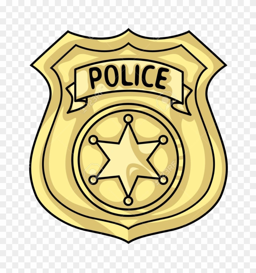Police Badge Png Clipart.