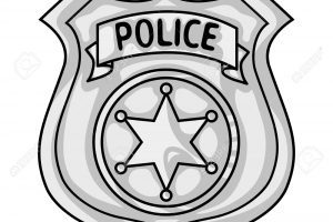 Police badge clipart black and white 5 » Clipart Portal.