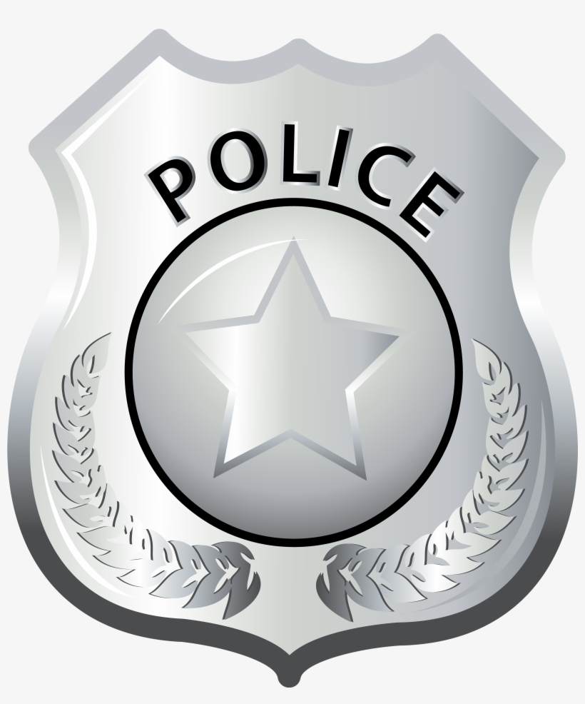 Police Badge Clipart Png.