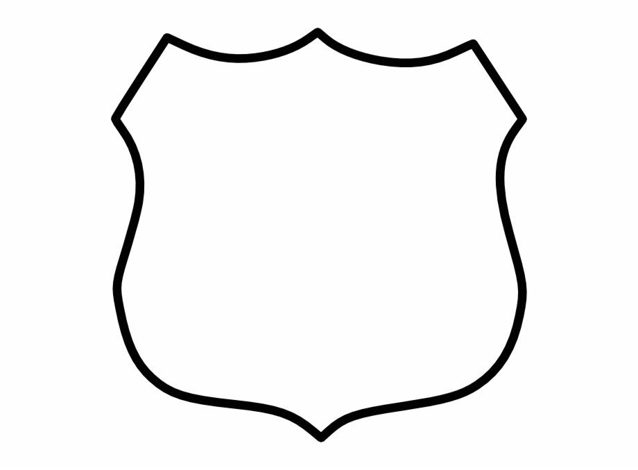 Police Badge Outline Png Free PNG Images & Clipart Download.