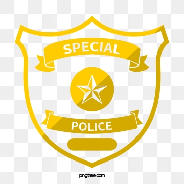 Police Badge PNG Images.