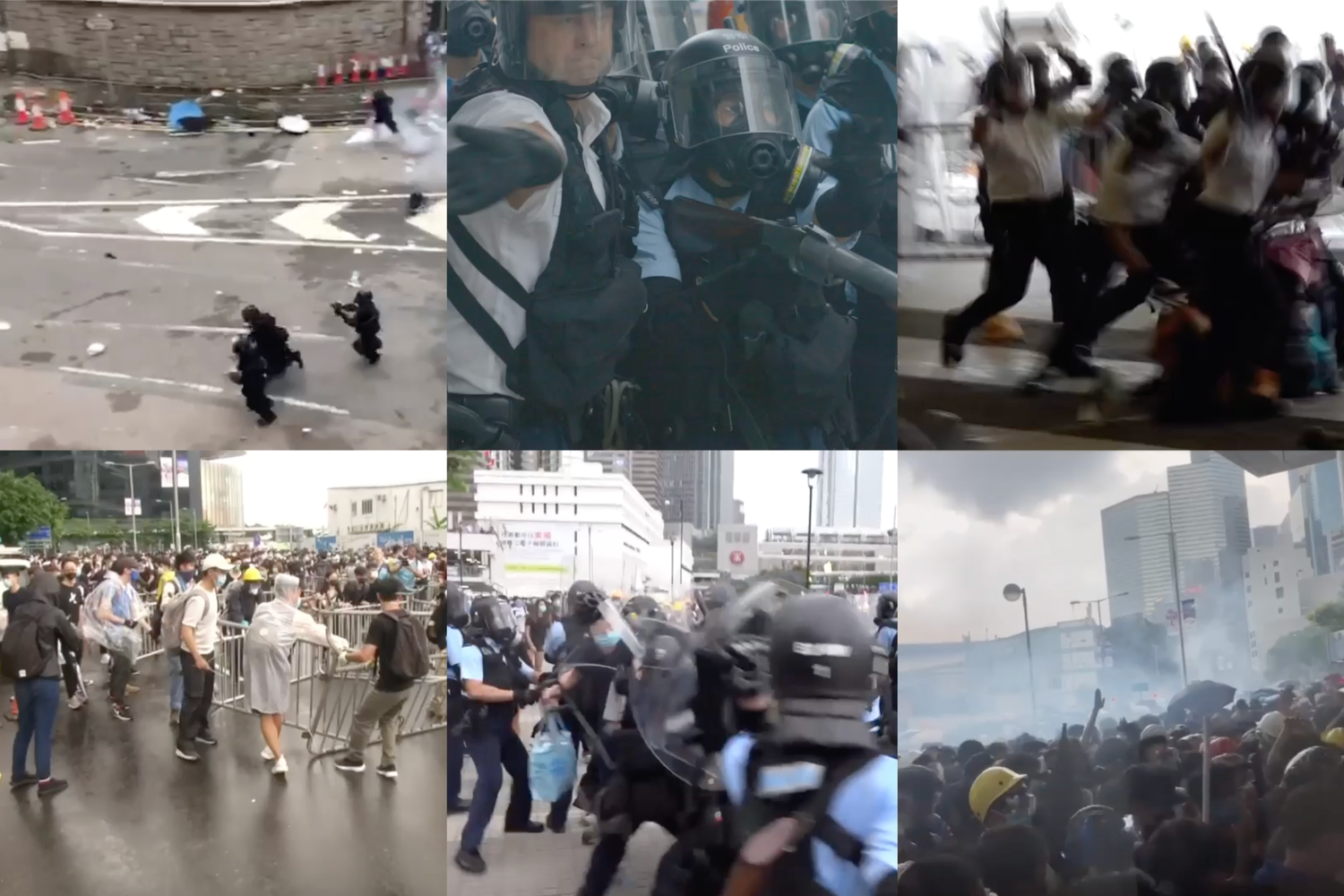 Did Hong Kong Police Abuse Protesters? What Videos Show.