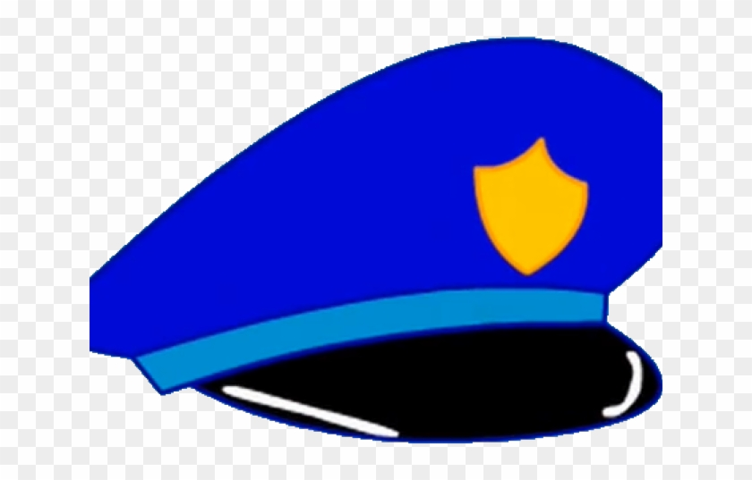 Cartoon Police Hat.