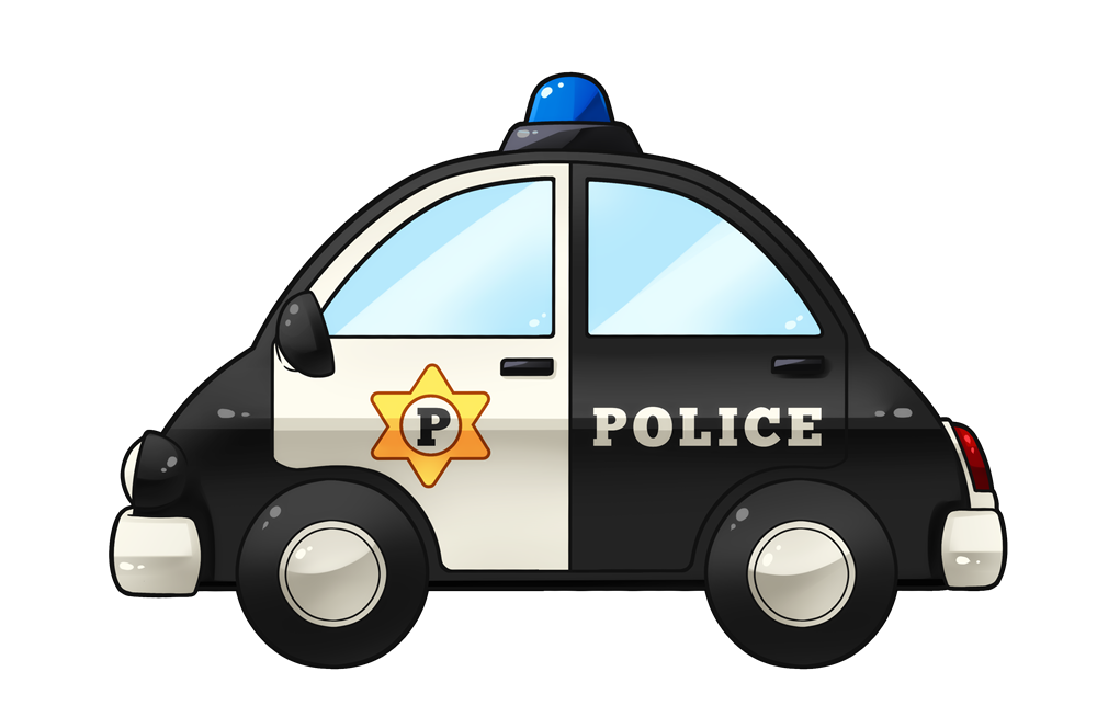 Police car clipart images.
