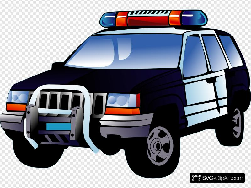 Police Car Clip art, Icon and SVG.