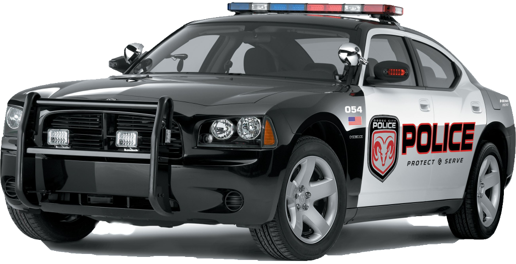 Police Car PNG Image.