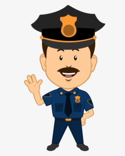 Free Police Clip Art with No Background.