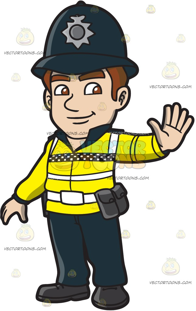 Uk Police Officer Clipart.