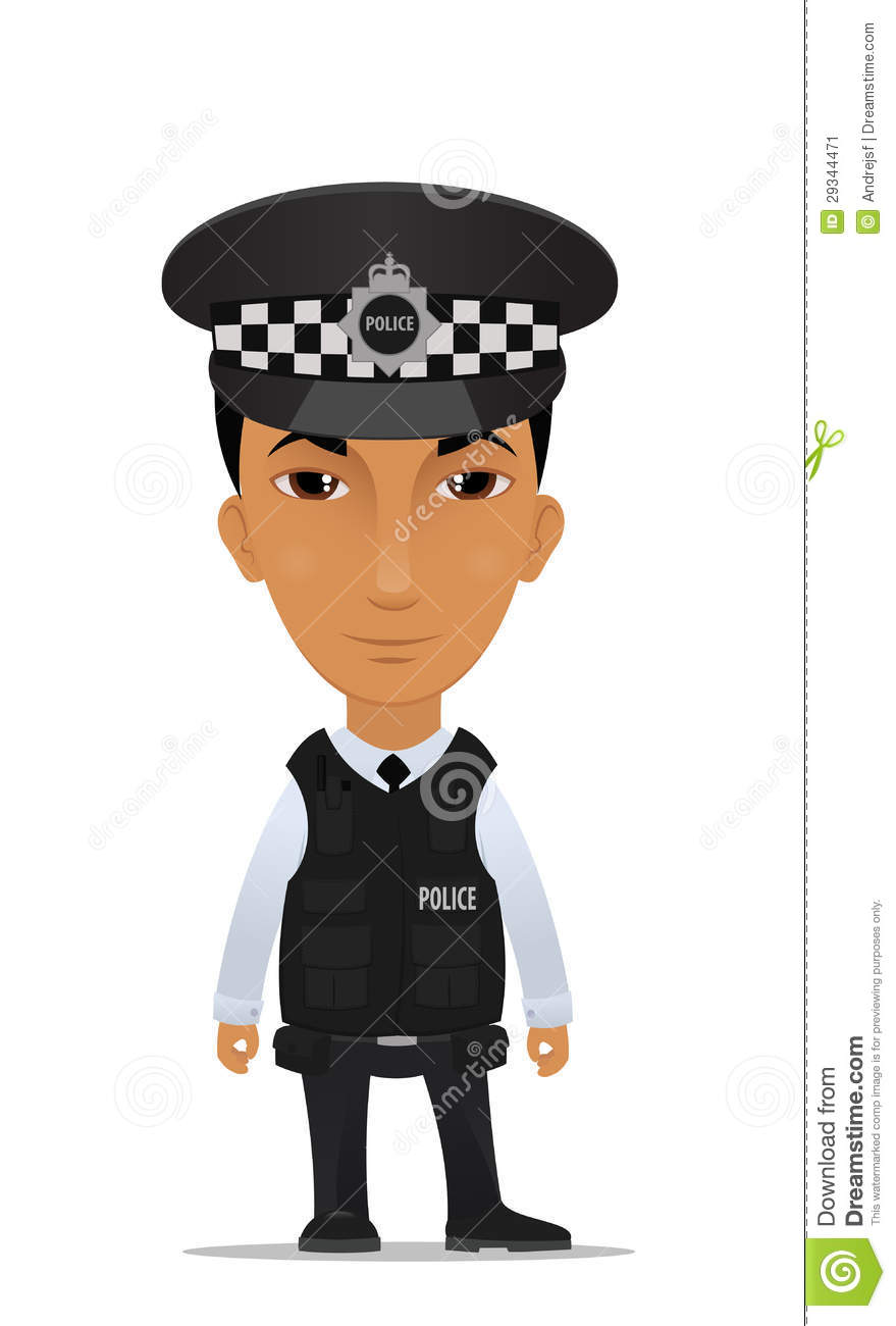 8495 Police free clipart.