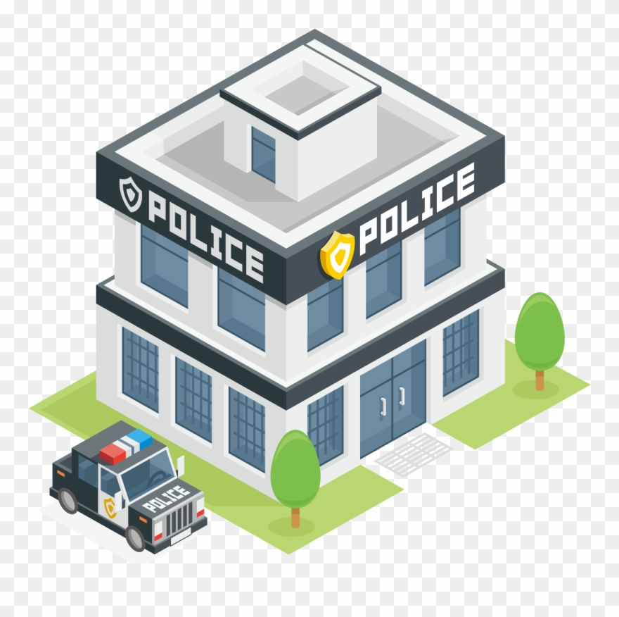 Image Freeuse Stock Police Station Officer Clip Art.