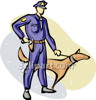 Police Dog Clipart.