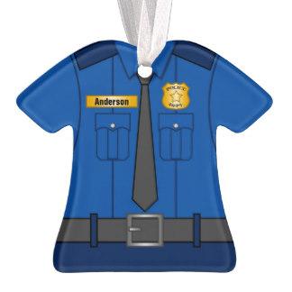 Police Officer Uniform Shirt Clipart.