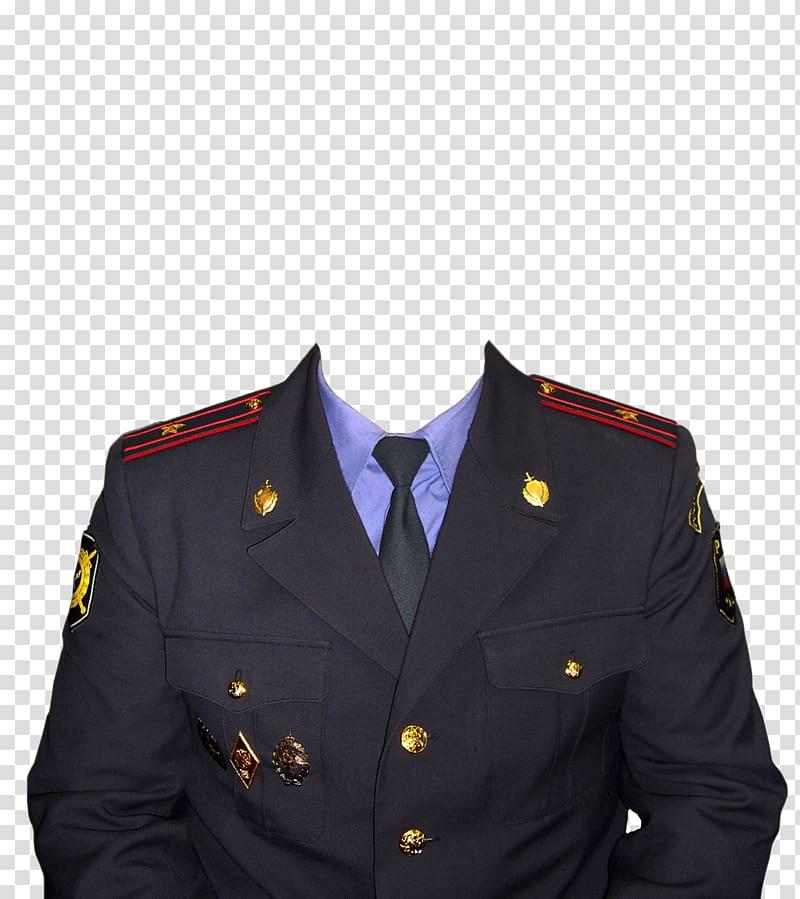 Frames Anime Smiley Police, Uniform transparent background.