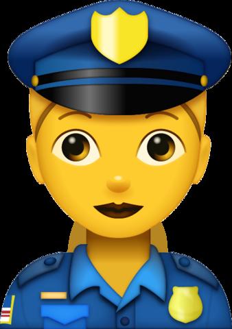 Police Woman Emoji.