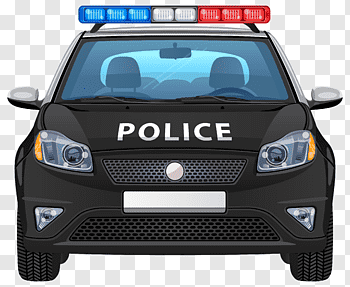 Police Car cutout PNG & clipart images.