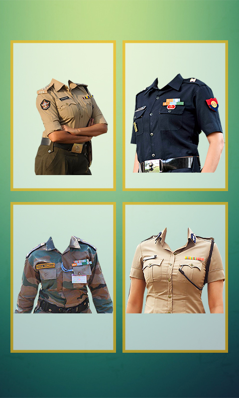 Indian Army Photo Uniform Editor.