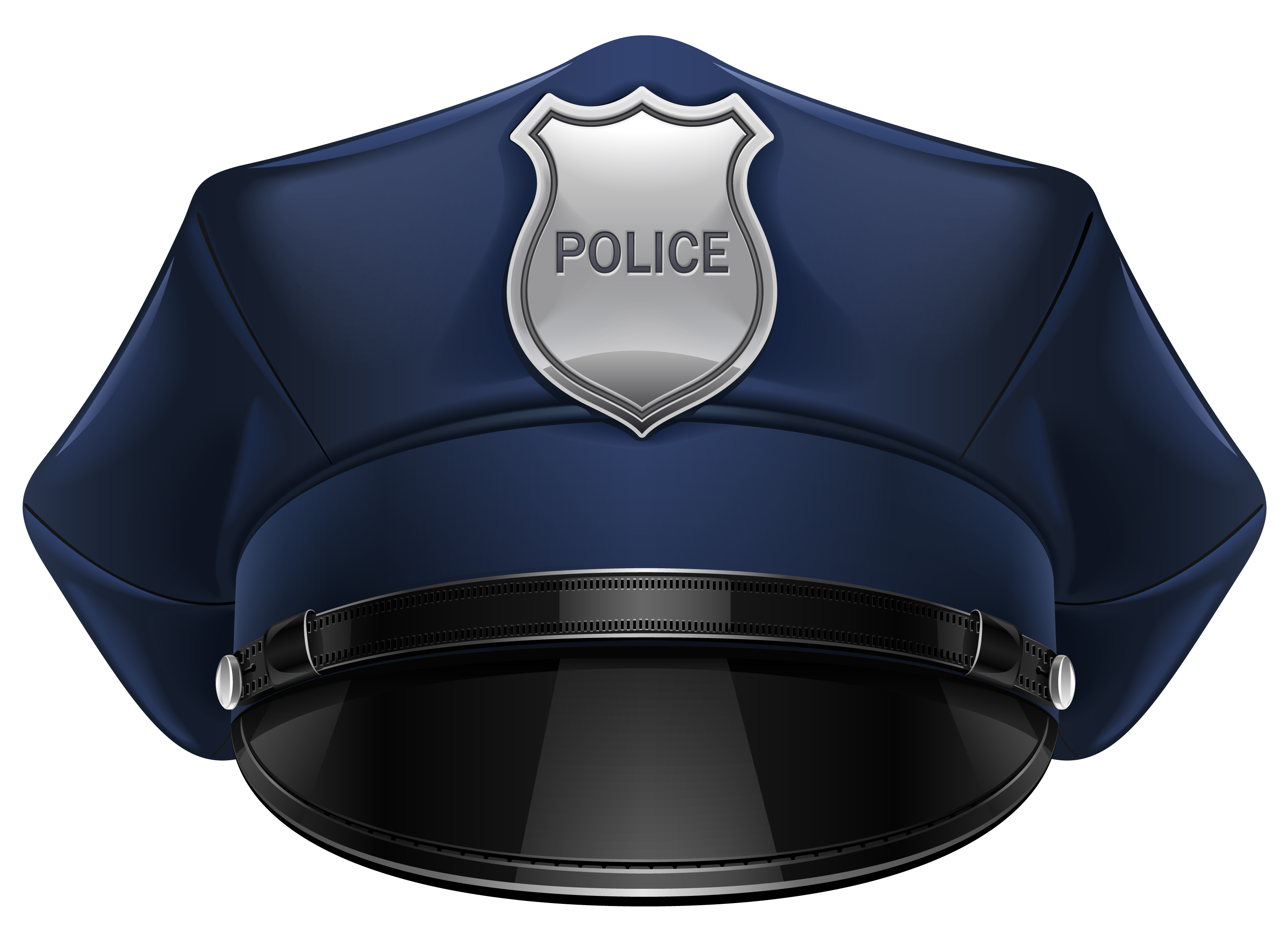 Police hat clipart clipground for Top gun hat template