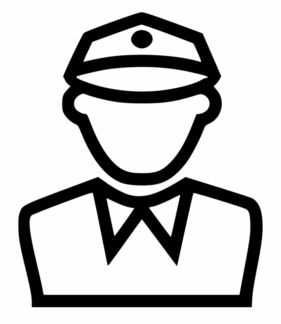 Police Man Comments Traffic Police Icon Png.