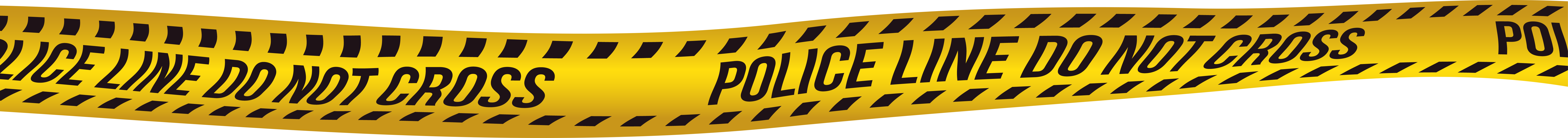 Do Not Cross Police Line PNG Clip Art Image.
